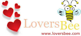 LoversBee logo and home page link